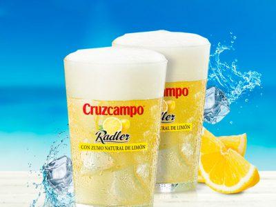 Con zumo de limón